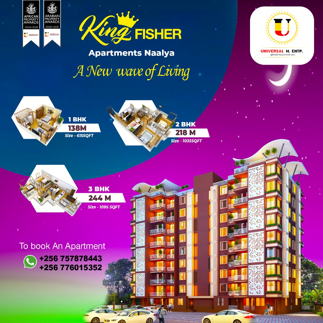 Kingfisher Apartments Naalya